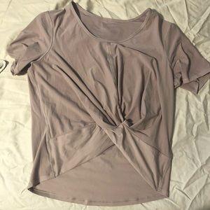 Never worn- NWOT lululemon twist top